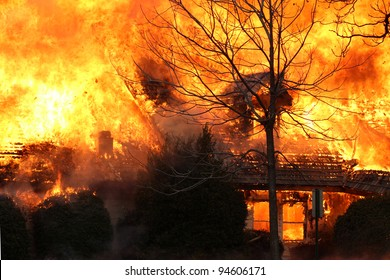 This blaze attests to the fact that house fire is the 3rd leading cause of deaths at home.