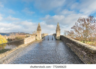 This bridge played a part in the Jacobite Rising of 1745, when an arch was removed to forestall Bonnie Prince Charlie?? forces as they marched south. The bridge today remains one of the best medieval