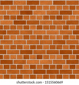 This is a brown brick wall