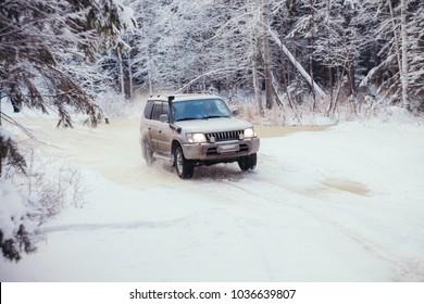 This car is Toyota Land Cruiser, belongs to Chernukhin Alexander (ie me). this photo was taken in Russia, Sverdlovsk Region, near the city of Yekaterinburg. Date taken: 01.28.2018.