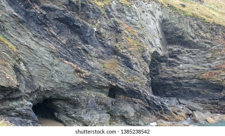 This cave in Tintagel, Cornwall, is said to have been the home for Magician Merlin, linked to the legend of King Arthur