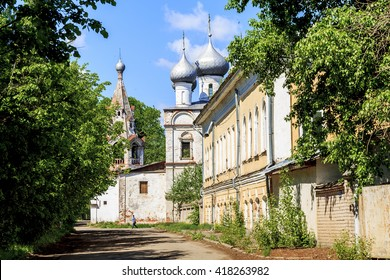 This is the church of St. John Chrysostom was built in the 16th century in the district of Zarechny May 27, 2013 in Vologda, Russia.