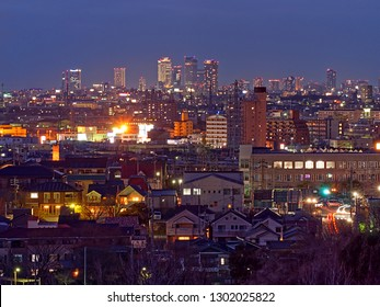 This City is called Nagoya city Japan.