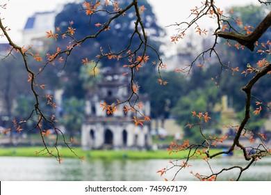 This is cityscape of Hanoi
