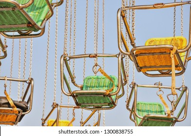 This colourful vintage midway giant swing ride has delighted thousands of children and adults alike over the decades, and makes an annual visit to Toronto's Canadian National Exhibition AKA The Ex.