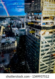 This is Commercial Bay of New Zealand which is still under construction, taken from PwC tower in Auckland CBD