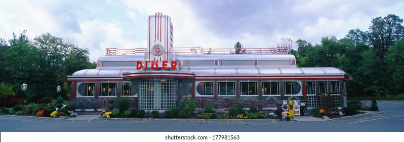 50s diner images stock photos vectors shutterstock for 50 s diner exterior