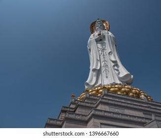 This Guan Yin Buddha is in Nanshan Temple just outside Sanya, Hainan, China