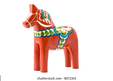 This horse called Dala horse is the most swedish thing besides the flag