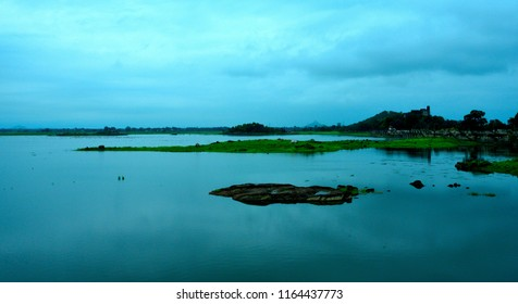 This is a human made lake named Barua Sagar Lake situated at Barua Sagar town Jhansi Uttar Pradesh India