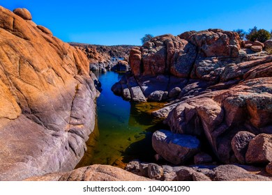 This image was captured by an inlet of Watson Lake in the beautiful Granite Dells of Prescott, Arizona. This area is very famous for bird sightings in its wetlands.