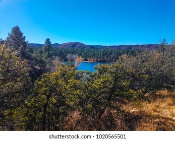 This image was captured at Lynx Lake, located in the Prescott National Forest southeast of Prescott, Arizona.
