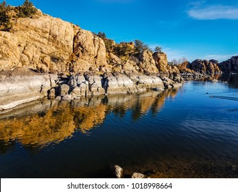 This image was captured near the main dock where the ducks hang out, at Watson Lake in the Granite Dells of Prescott, Arizona.