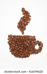 This is image of cut of coffee