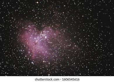 This image of the Eagle Nebula, M16