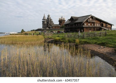 This is an image of Kizhi Island in the Russian Federation.