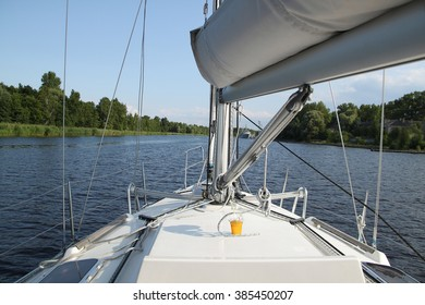 This is an image of my yacht. I love river fishing and yachting.