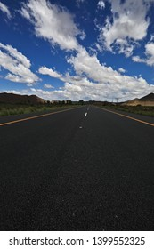 This is an image of the N1 highway near Drie Suster in the Great Karoo. The Great Karoo is a huge semi desert in South Africa where sheep farming is a very old industry.