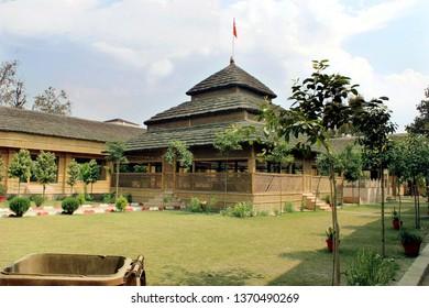 this image is Raman reti mahaban Ashram. Situated in Gokul, a few kilometers away from Mathura is this incredible place called Raman Van or Raman Reti