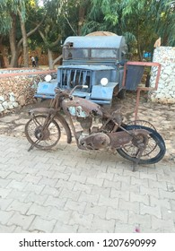 This image was taken in the city of Benghazi in Libya, and this bike and the drug return when the Italians occupied Libya