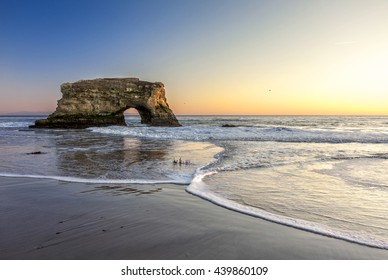This image was taken at Natural Bridges state beach in California