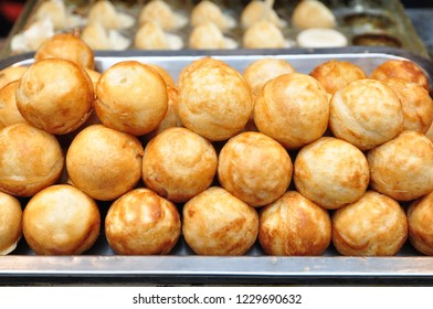 This is a kind of food: small octopus balls.