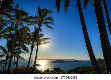 This is the landscape of Hamilton island in Queensland, Australia.