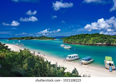 This is the landscape in Ishigaki island in Okinawa prefecture, Japan.  you can use this image for background of a calendar, a poster or any other promotional materials.
