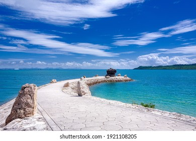 This is the landscape in Okinawa main island in Okinawa prefecture, Japan.  you can use this image for background of a calendar, a poster or any other promotional materials.
