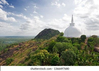 This large stupa known as the Maha Seya is on the summit of the Mihintale hill