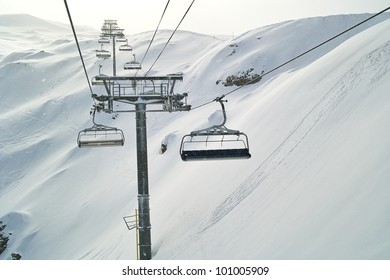 this is the longest cable car in alps from altitude 2600 meters to 3200 meters