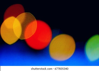 this lovey lmage is colorful bokeh