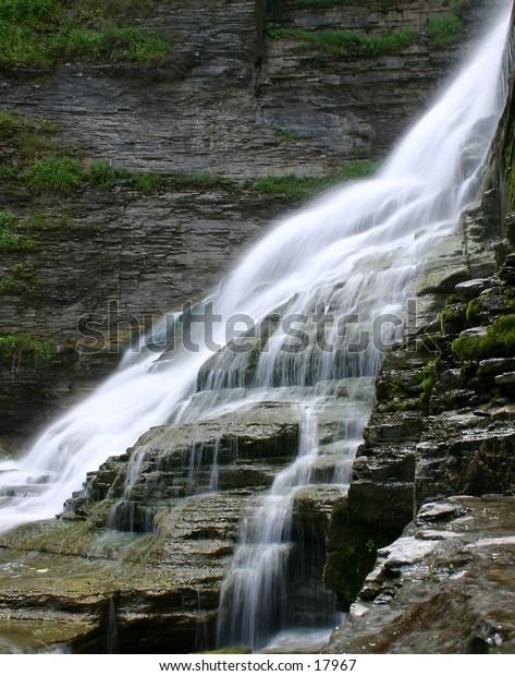 This is Lucifer Falls in Robert Treman State Park, Ithaca, NY.