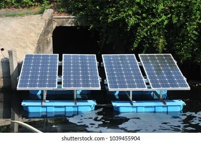This machine is Solar panels
