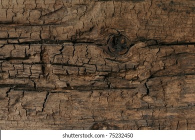 This macro closeup of a weather worn oak or pine board has a great texture and would be perfect for a background.