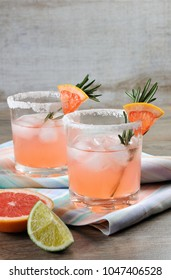 This magnificent cocktail of fresh pink Palomas.   A festive drink is ideal for brunch, parties and holidays.