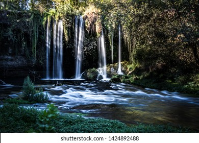 This is Manavgat waterfall in Antalya, Turkey