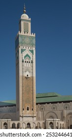 This minaret is the tallest in the world at 689 feet