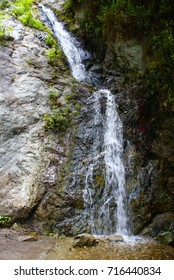 This is Monrovia Canyon Falls in California.
