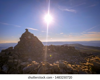 This monument of rocks is located at the summit of Meall a' Bhuachaille which is a mountain in the Cairngorms in Scotland.