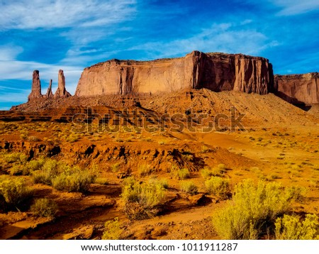 This Monument Valley Arizona Where There Stock Photo (Edit