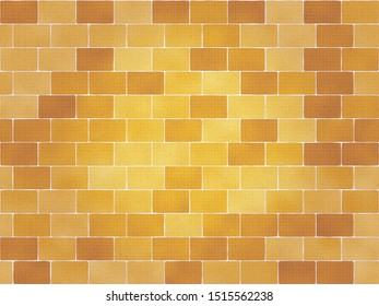This is a orange brick wall