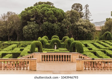 This is the park of Labyrinth of Horta (laberinto de Horta in Spanish), placed in upper Barcelona, next to Collserola mountain, in Spain.