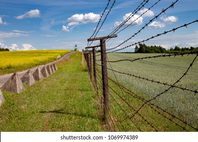 this is part of Iron curtain from Czech and Austria border from cold war time