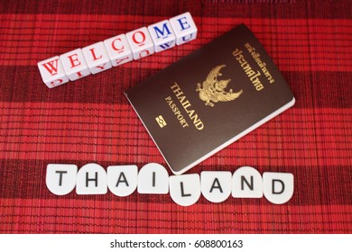 This is a passport Concepts, letters, holiday travel and letters welcome.