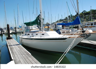 This is the photo of beautiful white yacht