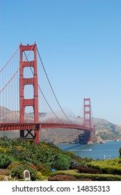 This is the photo of Golden Gate Bridge, San-Francisco, USA
