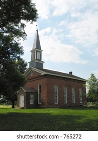 This photo is of Mann's Chapel Church located South of Rossville Illinois.