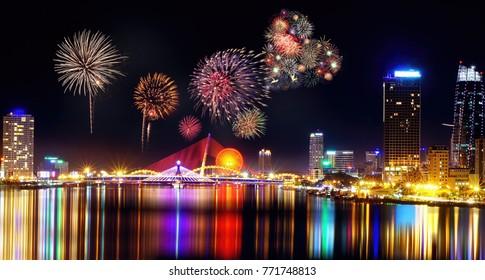This photo shows you how beautiful of Da Nang city, Vietnam