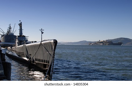 This is the photo of submarine, San- Francisco, USA